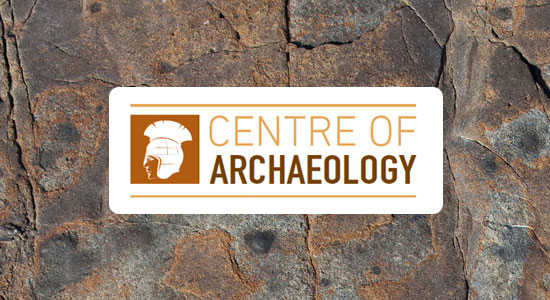 Centre of Archaeology logo